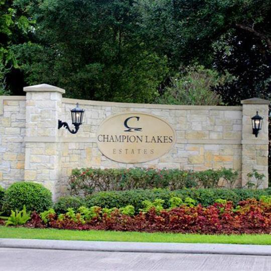 Champion Lake Estates